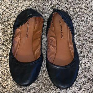 Lucky Brand Size 11 Black Flats
